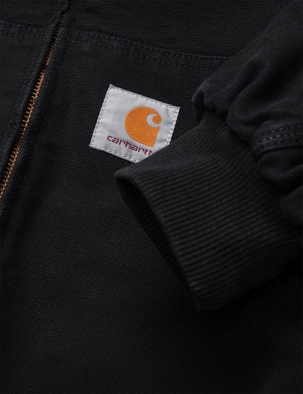 Carhartt-WIP OG Active Jacket (Organic Cotton) - Black Aged