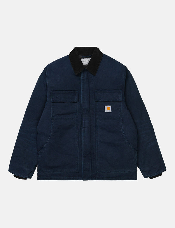 Carhartt-WIP OG Arctic Coat (Organic Cotton) - Dark Navy/Black