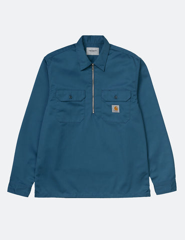 Carhartt-WIP Ilford Shirt - Prussian Blue