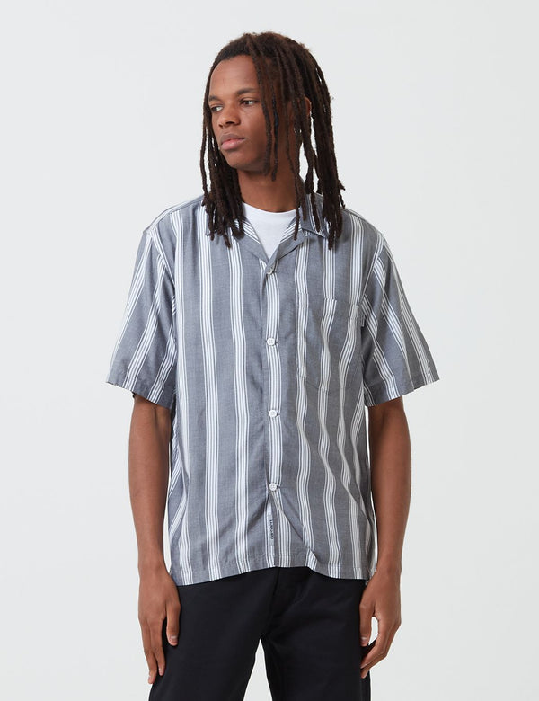 Carhartt-WIP Chester Shirt (Stripe) - Black