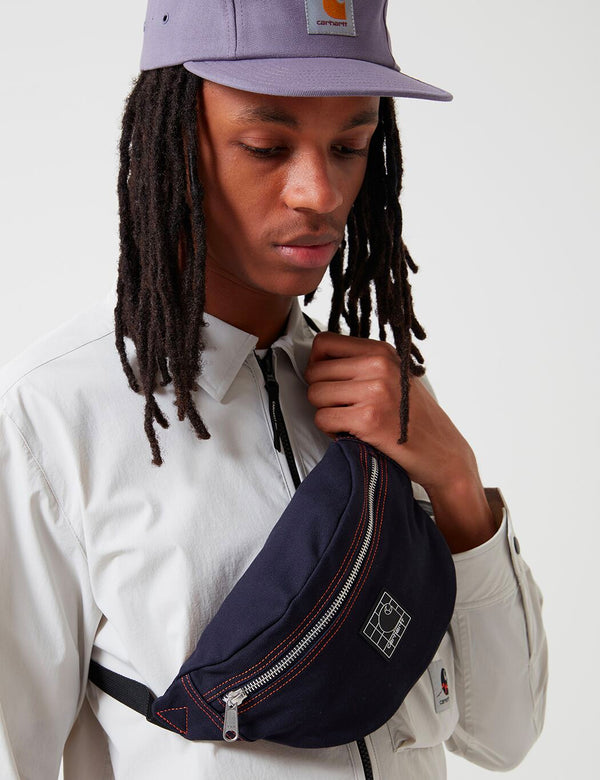 Carhartt-WIP Stratford Hip Bag - Dark Navy/Clockwork