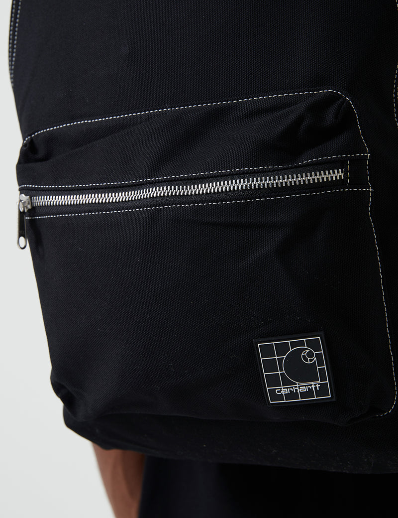 Carhartt-WIP Stratford Backpack (Dearborn Canvas, 12 oz) - Black