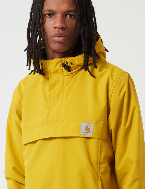 Carhartt-WIP Nimbus Half-Zip Jacket (Fleece Lined) - Colza Yellow