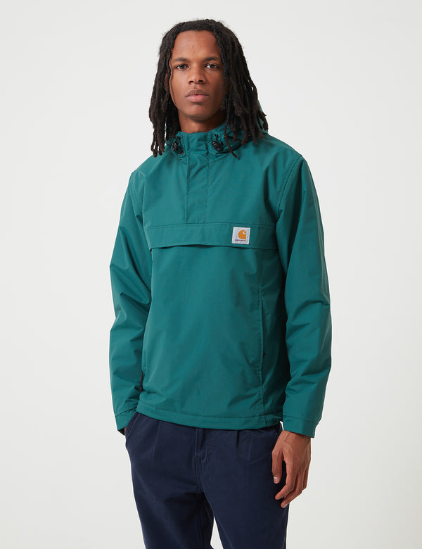 Carhartt-WIP Nimbus Half-Zip Jacket (Fleece Lined) - Dark Fir Green