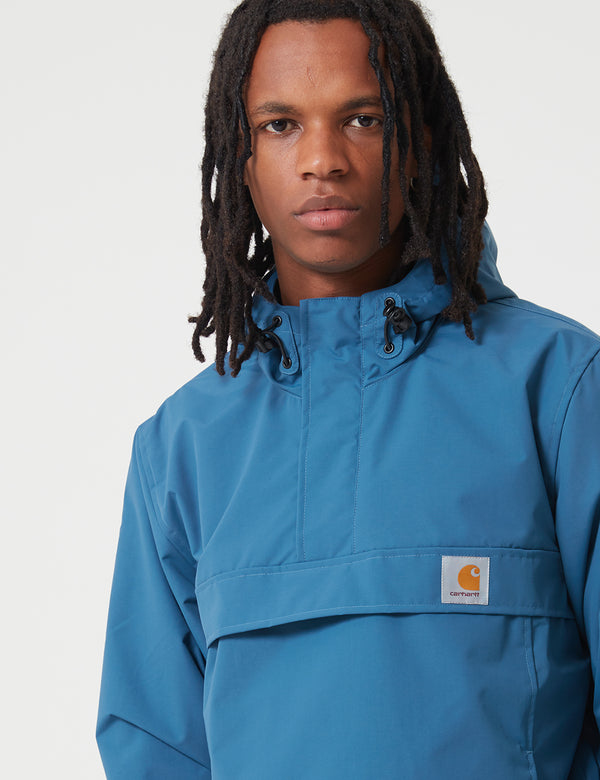 Carhartt-WIP Nimbus Half-Zip Jacket (Fleece Lined) - Prussian Blue