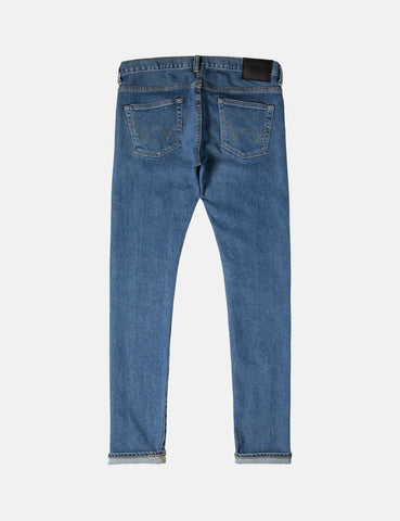 Edwin 'Made in Japan' Kaihara Selvage 12oz Jeans (Slim Tapered) - Blue Mid-Used