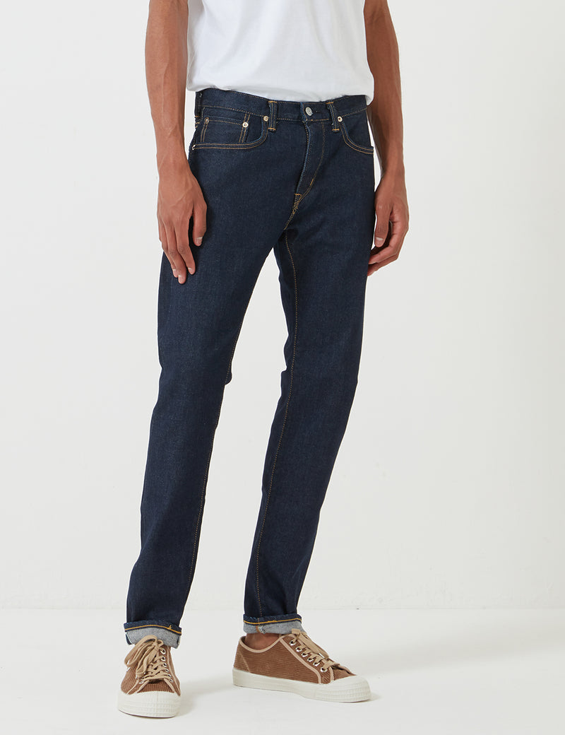 Edwin 'Made in Japan' Kaihara Selvage 12oz Jeans (Slim Tapered) - Blue Rinsed