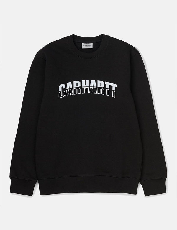 Carhartt-WIP District Sweatshirt - Black/White