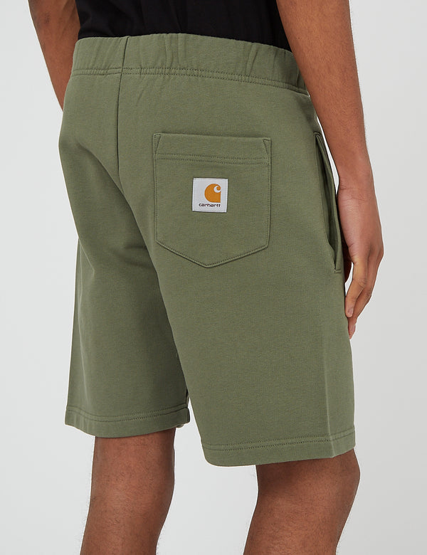 Carhartt-WIP Pocket Sweat Short - Dollar Green
