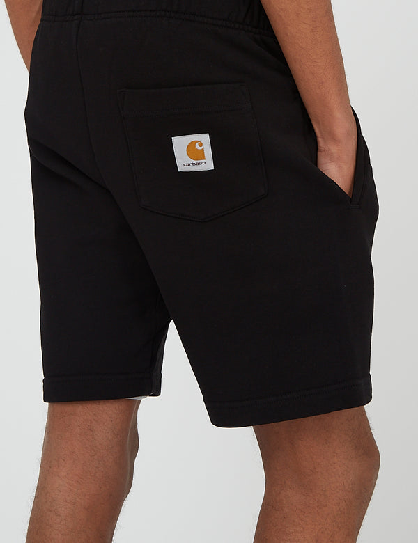 Carhartt-WIP Pocket Sweat Short - Black