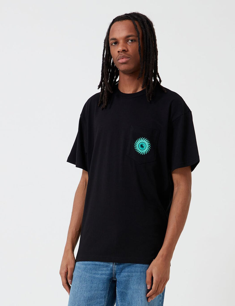 Carhartt-WIP Note Pocket T-Shirt - Black