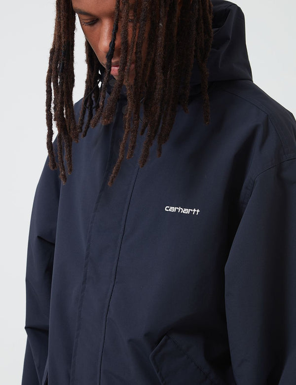 Carhartt-WIP Ashby Parka - Dark Navy Blue