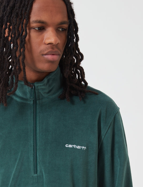 Carhartt-WIP Tila Fleece Pullover - Treehouse Green