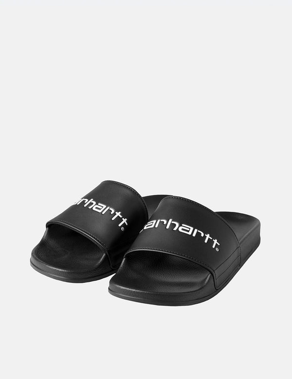 Carhartt-WIP Slippers (Slides) - Black/White