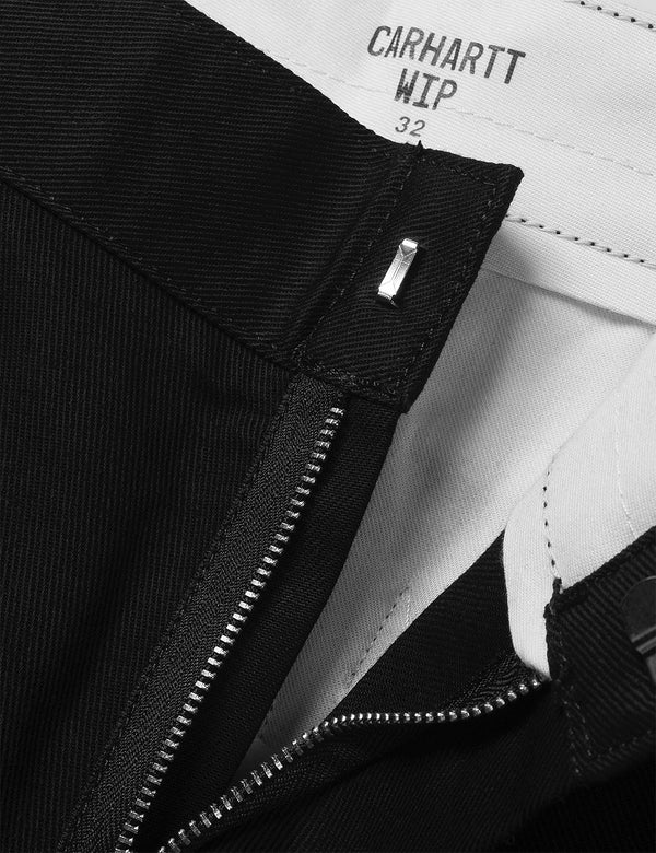 Pantalon Carhartt-WIP Craft - Black Rinsed