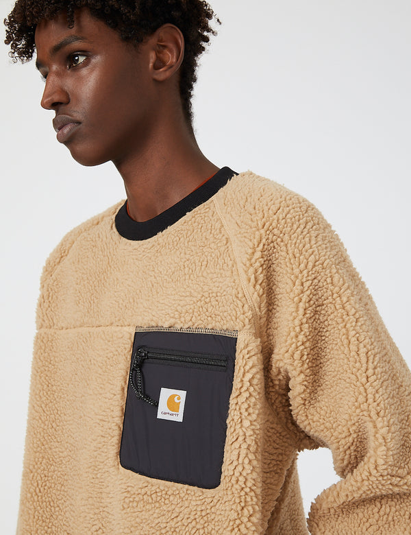 Carhartt-WIP Prentis Sweatshirt - Dusty H Brown