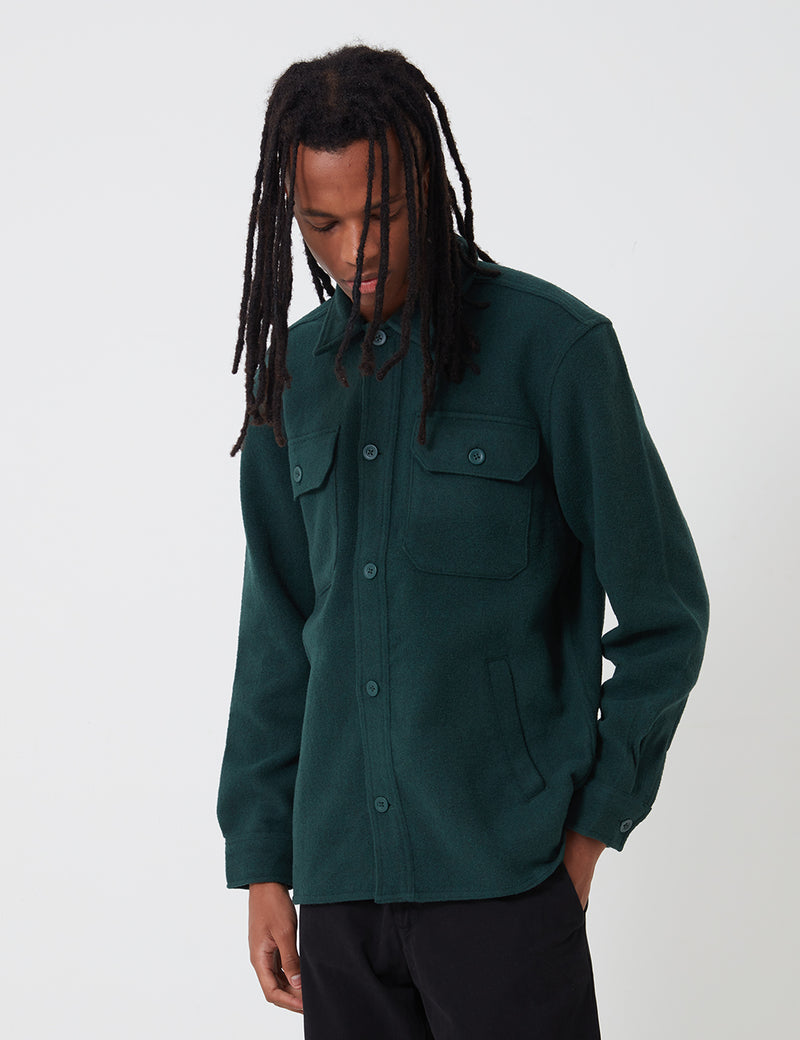 Carhartt-WIP Owen Shirt Jacket - Bottle Green