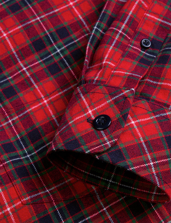 Chemise Carhartt-WIP Huffman Check - Rocket Red