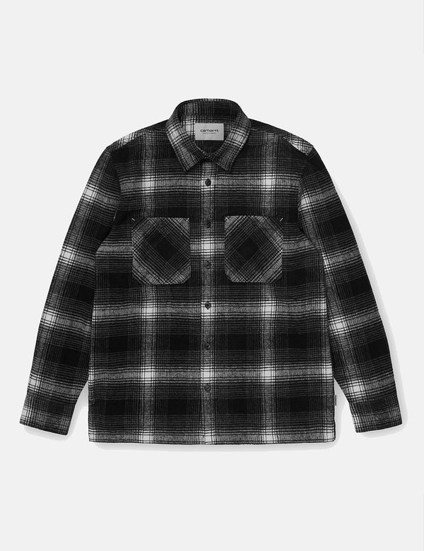 Carhartt-WIP Nigel Check Shirt - Husky Blue