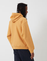 Carhartt-WIP Hooded American Script Sweatshirt - Winter Sun