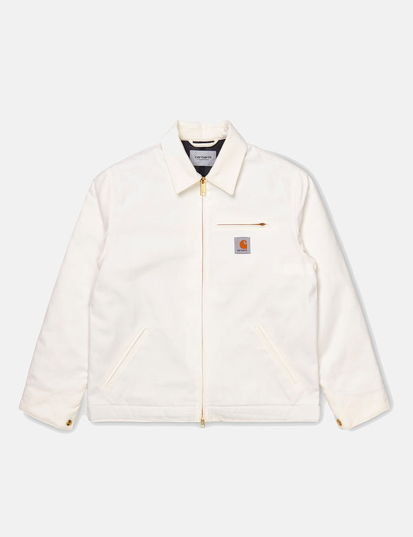 Carhartt-WIP Detroit Jacket (Organic Cotton, 12 oz) - Wax rigid