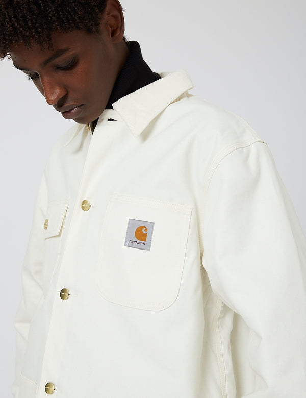 Manteau Carhartt-WIP Michigan (Coton Bio) - Wax rigide