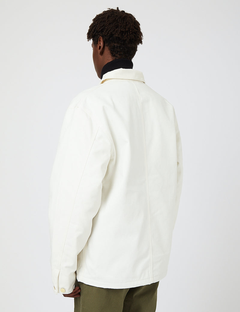 Carhartt-WIP Michigan Coat (Organic Cotton) - Wax rigid