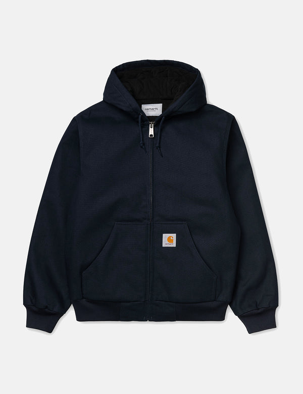 Carhartt-WIP Active Jacket (Organic Cotton) - Dark Navy rigid