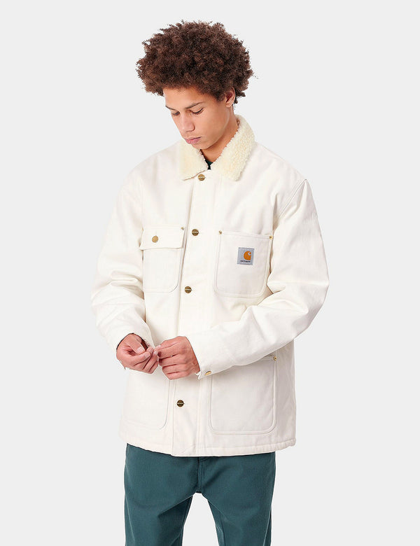 Carhartt-WIP Fairmount Coat (Coton Biologique) - Wax Rigid