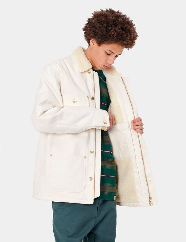 Carhartt-WIP Fairmount Coat (Organic Cotton) - Wax Rigid