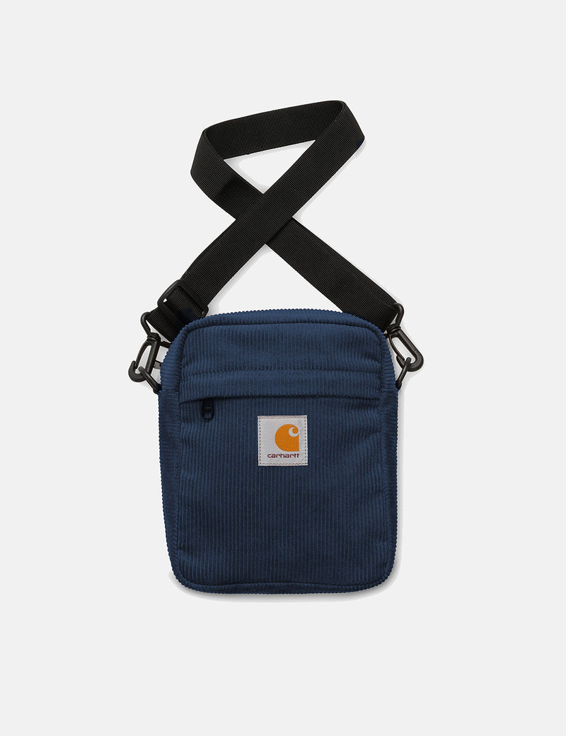 Carhartt-WIP Cord Bag Small (Corduroy) - Dark Navy Blue