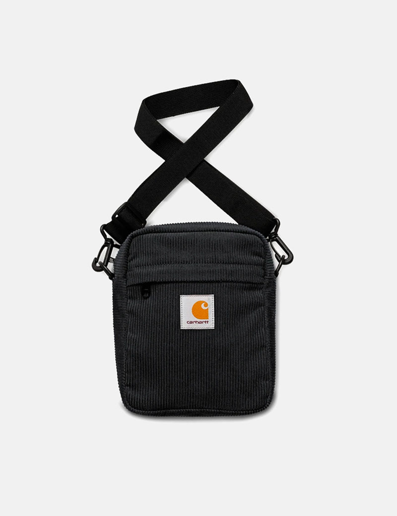 Carhartt-WIP Cord Bag Small (Corduroy) - Black