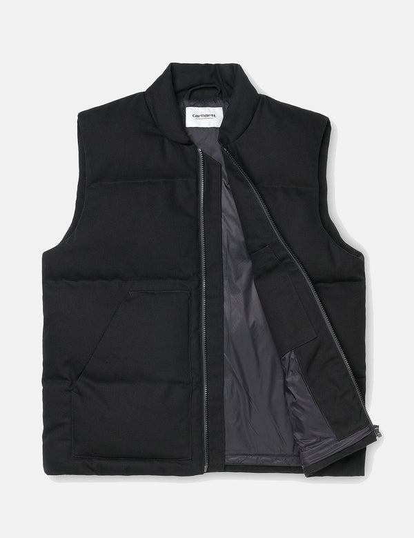 Carhartt-WIP Brooke Vest (Organic Cotton) - Black