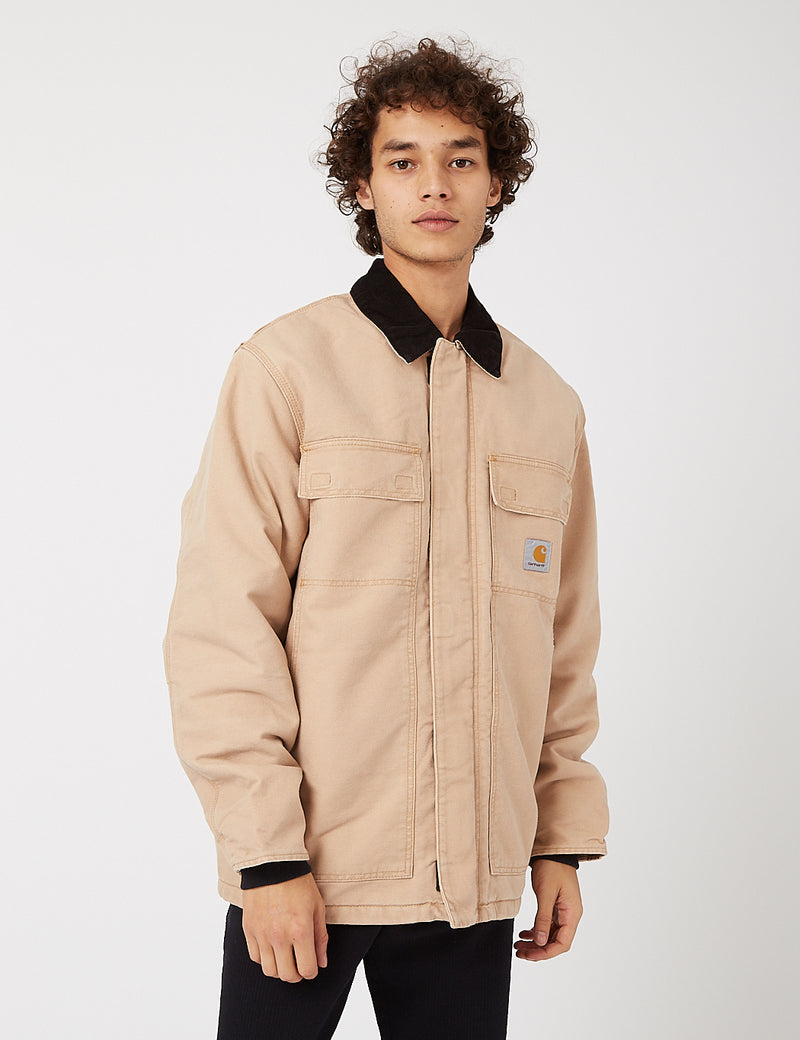 Carhartt-WIP OG Arctic Coat (Organic Cotton) - Dusty Hamilton Brown/Black