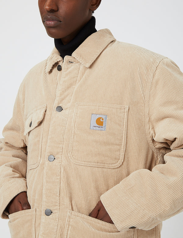 Carhartt-WIP Michigan Coat (Corduroy, 9.7 oz) - Wall rinsed