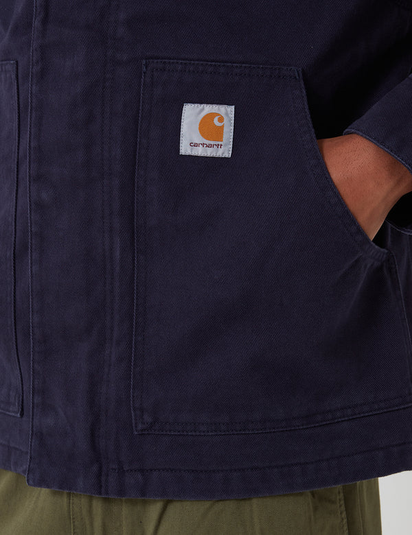 Carhartt-WIP Arcan Jacket - Dark Navy rinsed