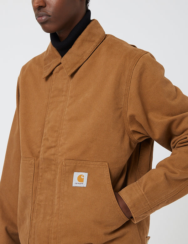 Carhartt-WIP Arcan Jacket - Hamilton Brown rinsed