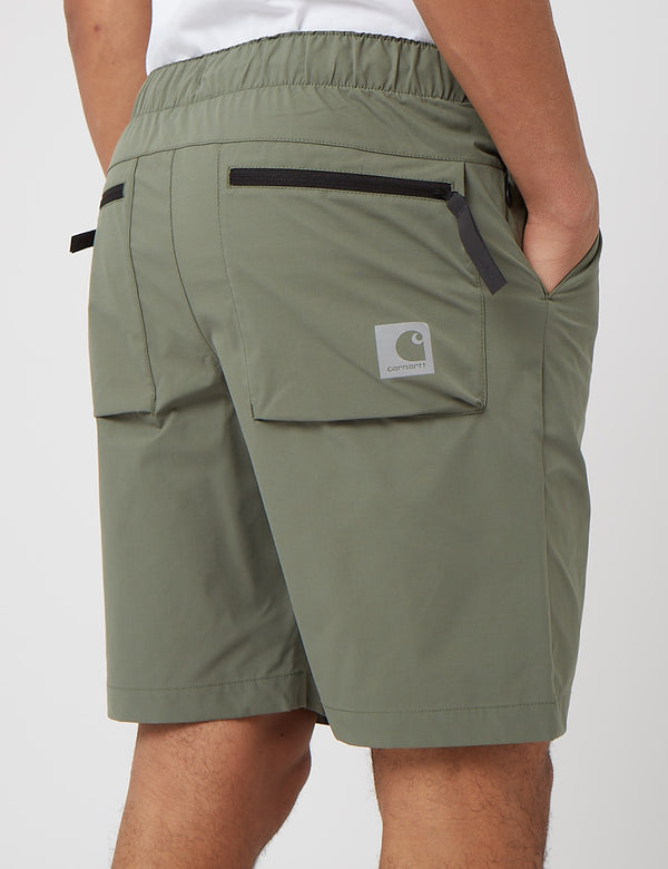 Carhartt-WIP Hurst Short (Mechanical Stretch Ripstop) - Dollar Green