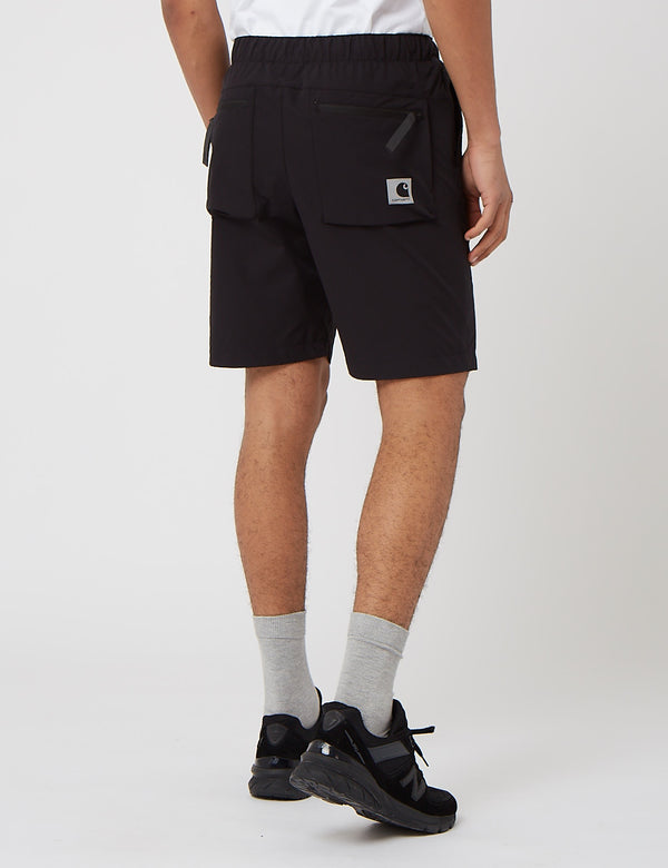 Carhartt-WIP Hurst Short (Mechanical Stretch Ripstop) - Black