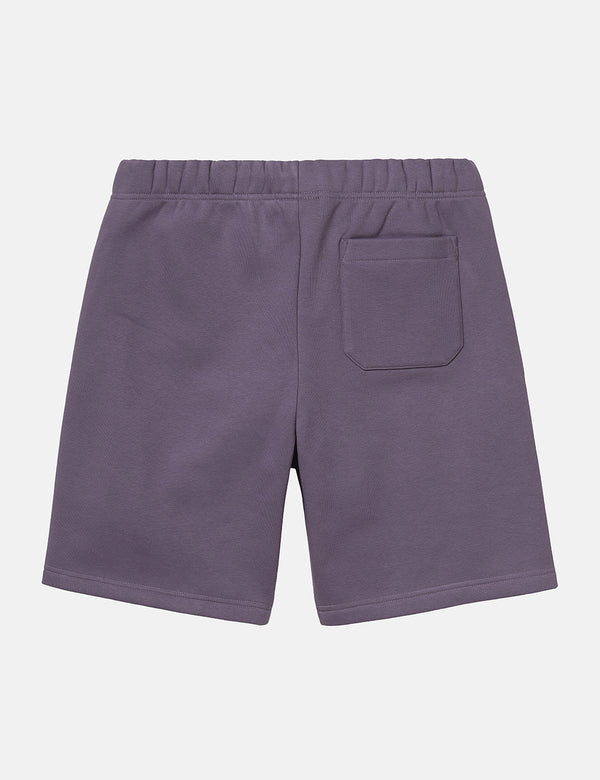 Short en sweat Carhartt-WIP Chase (Sweat épais, 13oz) - Provence