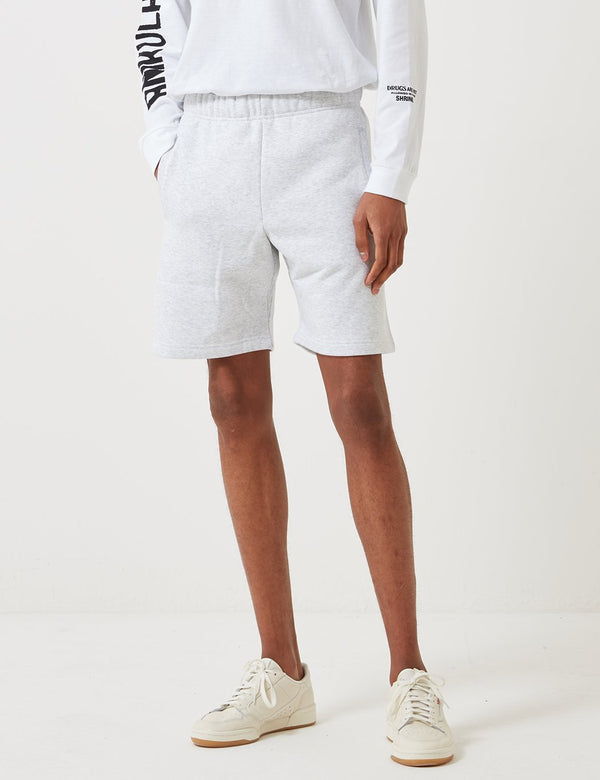 Carhartt-WIP Chase Sweat Shorts (Heavy Sweat, 13oz) - Ash Heather Grey