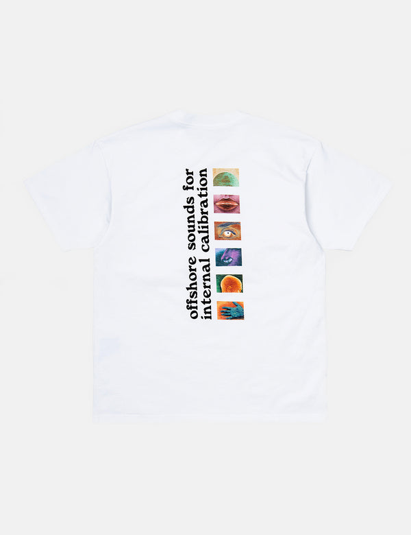 Carhartt-WIP Calibrate T-Shirt (Organic Cotton) - White