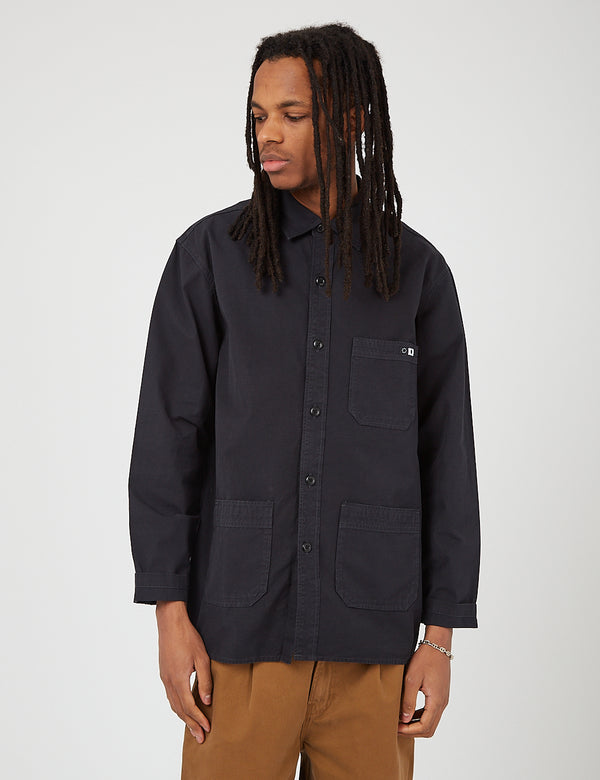 Edwin Major Shirt (Ripstop) - Black
