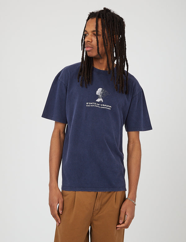 Edwin Inner Self T-Shirt - Maritime Blue