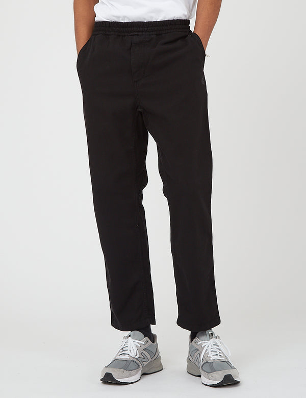 Carhartt-WIP Carson Pant (Stone Washed) - Black
