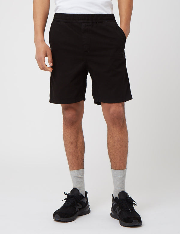 Carhartt-WIP Carson Short (Stone Washed) - Black
