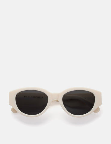 Super Drew Mama Sunglasses - Panna White