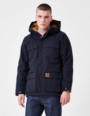 Carhartt Mentley Jacket - Dark Navy Blue
