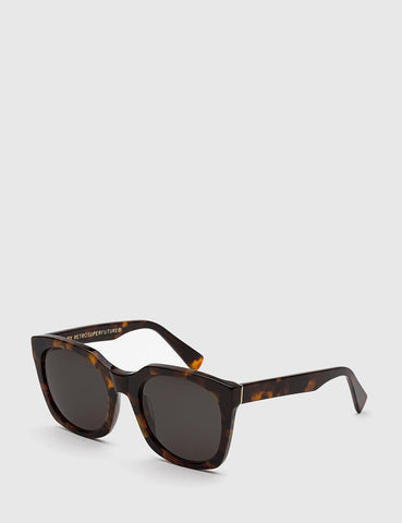 Super Quadra Classic Sunglasses - Havana Brown
