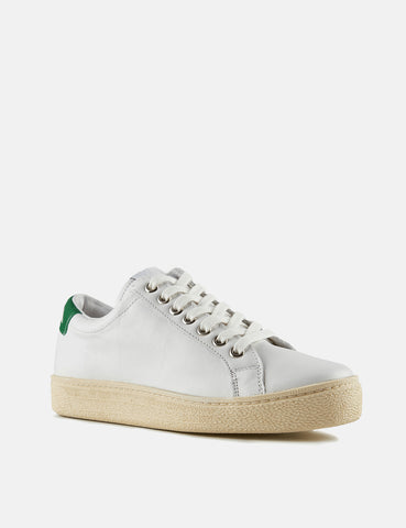 Novesta Itoh Trainers (Leather) - White/Green